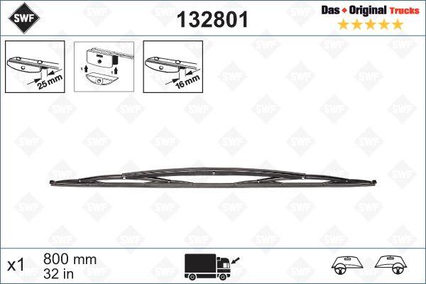 Köp SWF 132801 - Vindruterengöring till Mercedes-Benz: Standard, 800mm