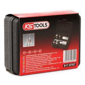 917.0707 KS TOOLS Juego de adaptadores de ampliación / reducción, carraca 917.0707 a buen precio