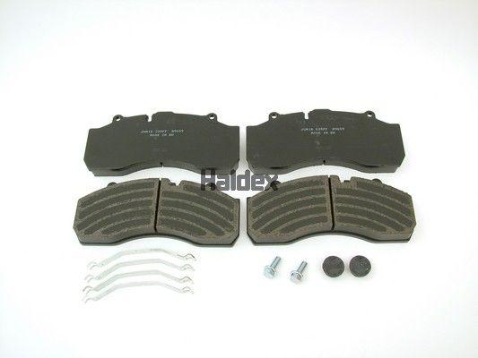 Bremsbelagsatz Scheibenbremse HALDEX 92008