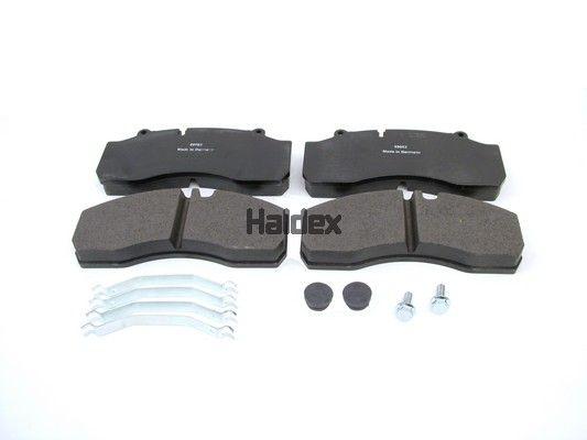 Bremsbelagsatz Scheibenbremse HALDEX 92010
