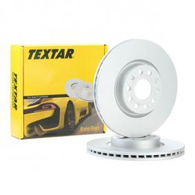 98200120501PRO TEXTAR PRO+ Ventilación interna, revestido, altamente carbonizado, sin buje de rueda, sin perno de sujeción de rueda Ø: 312mm, Espesor disco freno: 25,0mm Disco de freno 92120505 a buen precio
