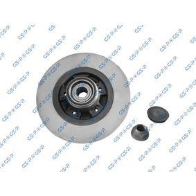GHA230144K GSP Oś tylna, ze zintegrowanym czujnikiem ABS Ø: 274[mm], Felga: 5-otworowa Tarcza hamulcowa 9230144K kupić niedrogo