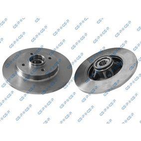 GHA230148 GSP Rear Axle, with integrated ABS sensor Ø: 268mm, Rim: 4-Hole Brake Disc 9230148 cheap