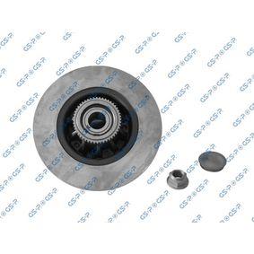 GHA235025K GSP Hinterachse, mit ABS-Sensorring Ø: 279,8mm, Felge: 5-loch Bremsscheibe 9235025K günstig kaufen