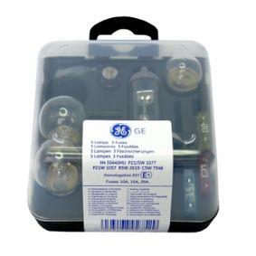 92752 Sortiment, Glühlampen GE in Original Qualität
