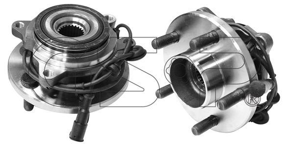 Купете GHA324009 GSP предна ос, с вграден сензор за ABS Ø: 154мм Комплект колесен лагер 9324009 евтино