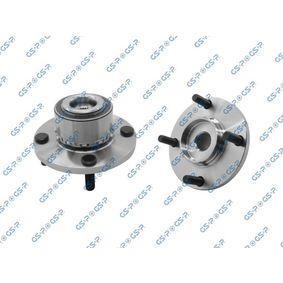 GHA325026 GSP Vorderachse, mit integriertem ABS-Sensor Ø: 137mm Radlagersatz 9325026 günstig kaufen