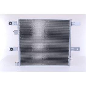 NISSENS Kondensor, klimatanläggning 940541 - köp med 20% rabatt
