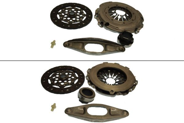 BMW 2 Series 2017 Clutch set KAWE 962700: for engines with dual-mass flywheel, with clutch pressure plate, with clutch disc, with clutch release bearing