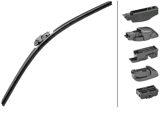 Reservdelar KIA K2900 2012: Torkarblad HELLA 9XW 358 053-211 till rabatterat pris — köp nu!