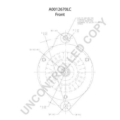 A0012670LC Lichtmaschine PRESTOLITE ELECTRIC A0012670LC - Große Auswahl - stark reduziert