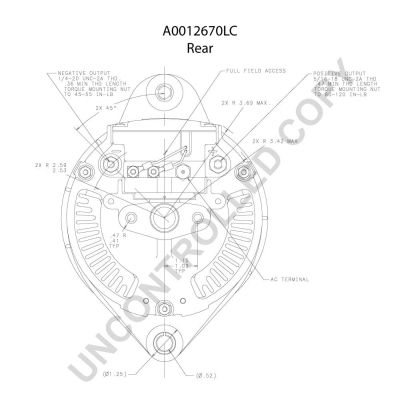 A0012670LC Generator PRESTOLITE ELECTRIC - Markenprodukte billig