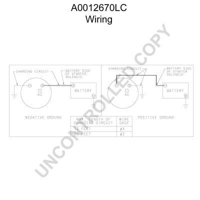 PRESTOLITE ELECTRIC   Lichtmaschine A0012670LC