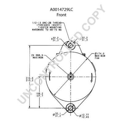 A0014729LC Lichtmaschine PRESTOLITE ELECTRIC A0014729LC - Große Auswahl - stark reduziert