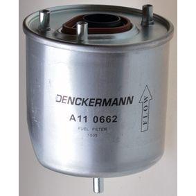A110662 DENCKERMANN Höhe: 139mm Kraftstofffilter A110662 günstig kaufen