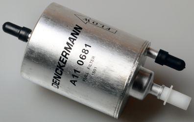 A110681 DENCKERMANN Leitungsfilter Höhe: 176mm Kraftstofffilter A110681 günstig kaufen