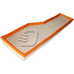A141431 DENCKERMANN Länge: 532mm, Breite: 182mm, Breite 1: 173mm, Höhe: 42mm Luftfilter A141431 günstig kaufen
