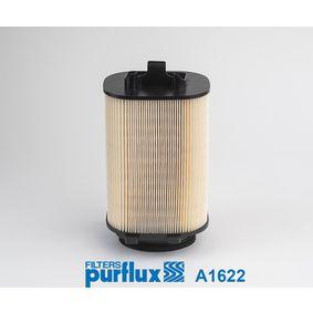 A1622 PURFLUX Höhe: 255mm Luftfilter A1622 günstig kaufen