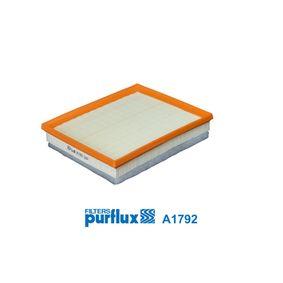 A1792 Luftfilter PURFLUX in Original Qualität