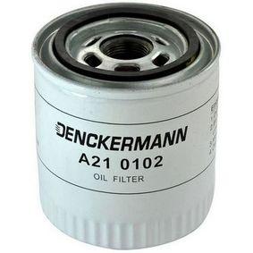 A210102 DENCKERMANN Innendurchmesser 2: 63mm, Innendurchmesser 2: 72mm, Höhe: 106mm Ölfilter A210102 günstig kaufen