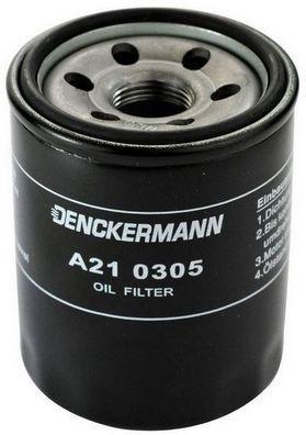A210305 DENCKERMANN Anschraubfilter Innendurchmesser 2: 63mm, Innendurchmesser 2: 56mm, Höhe: 87mm Ölfilter A210305 günstig kaufen
