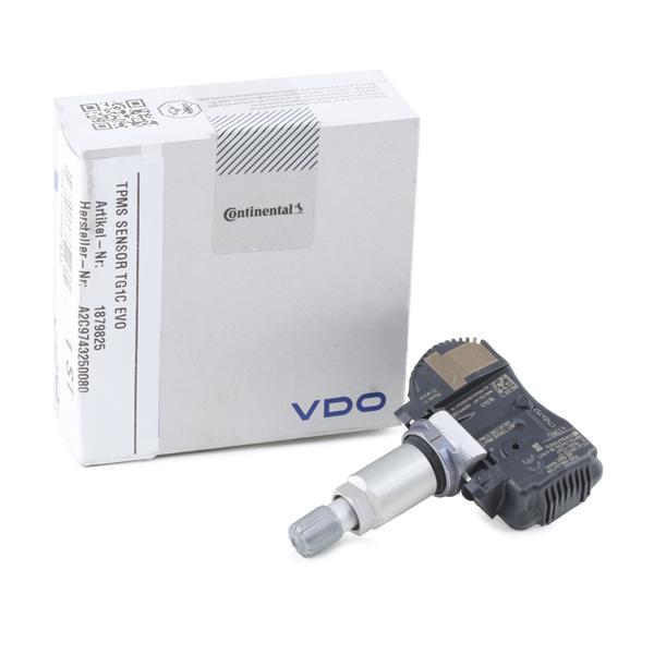 Hjulsensor, däcktryckskontrollsystem VDO A2C9743250080 Recensioner