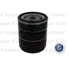 A32-0500 ACKOJA Anschraubfilter, mit einem Rücklaufsperrventil Innendurchmesser 2: 62mm, Innendurchmesser 2: 71mm, Ø: 76mm, Höhe: 74mm Ölfilter A32-0500 günstig kaufen