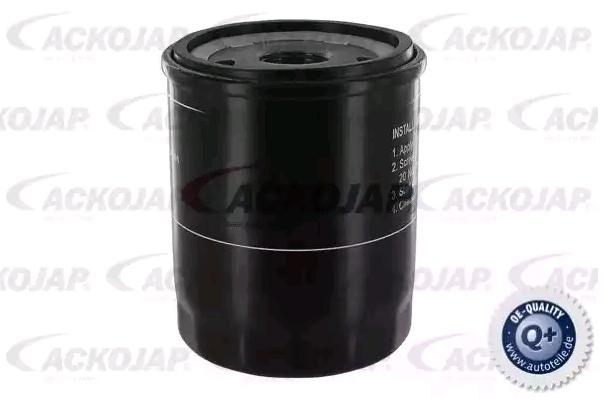 A37-0500 ACKOJA Anschraubfilter, mit einem Rücklaufsperrventil Innendurchmesser 2: 57mm, Innendurchmesser 2: 64mm, Ø: 68mm, Höhe: 85mm Ölfilter A37-0500 günstig kaufen
