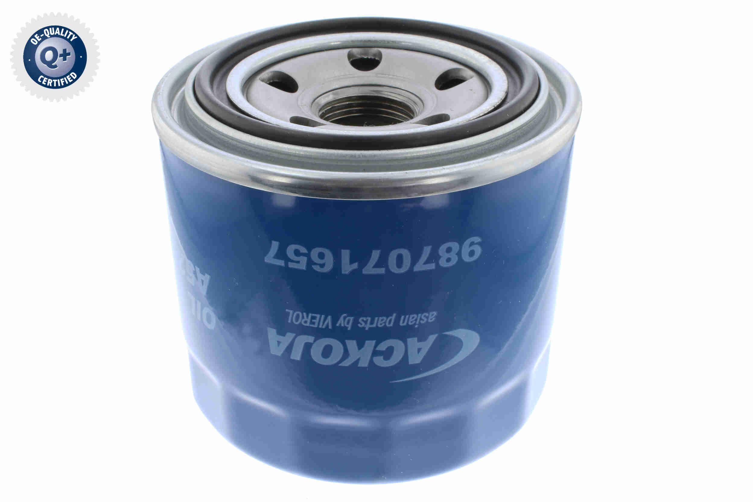 A52-0502 Oil Filter ACKOJA Test