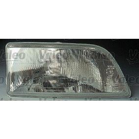 VALEO rechts, R2 (Bilux), ohne Stellmotor für LWR, ohne Glühlampe Links-/Rechtsverkehr: für Rechtsverkehr, Fahrzeugausstattung: für Fahrzeuge mit Leuchtweiteregelung (mechanisch) Hauptscheinwerfer 061226 günstig kaufen