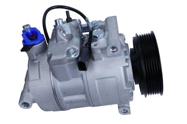 AC351528 MAXGEAR PAG 46, Kältemittel: R 134a, mit PAG-Kompressoröl Riemenscheiben-Ø: 100mm, Anzahl der Rillen: 6 Klimakompressor AC351528 günstig kaufen