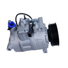 AC351528 MAXGEAR PAG 46, Kältemittel: R 134a, mit PAG-Kompressoröl Riemenscheiben-Ø: 100mm, Anzahl der Rillen: 6 Kompressor, Klimaanlage AC351528 günstig kaufen