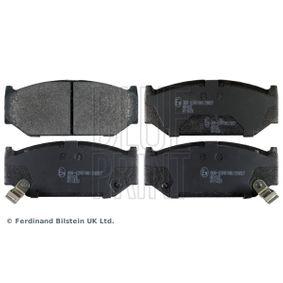 ADK84244 BLUE PRINT Vorderachse, mit akustischer Verschleißwarnung Breite: 45,5mm, Dicke/Stärke 1: 13,8mm Bremsbelagsatz, Scheibenbremse ADK84244 günstig kaufen