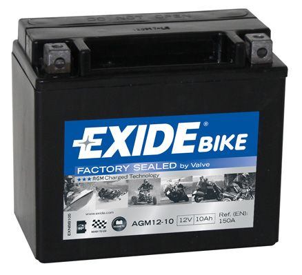 CENTRA BIKE Akumulator AGM12-10 HONDA