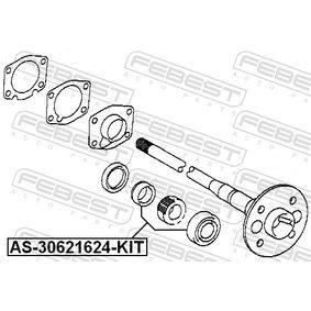AS30621624KIT Drivaxellager FEBEST AS-30621624-KIT Stor urvalssektion — enorma rabatter