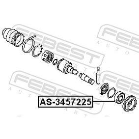 AS3457225 Lager, Antriebswelle FEBEST AS-3457225 - Große Auswahl - stark reduziert