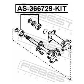 AS366729KIT Drivaxellager FEBEST AS-366729-KIT Stor urvalssektion — enorma rabatter
