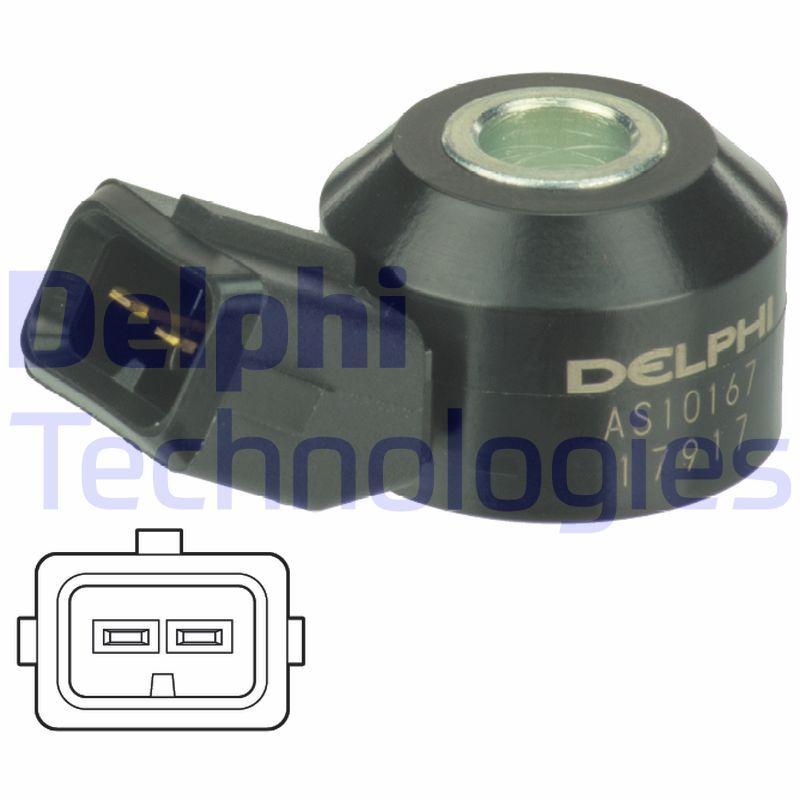 DELPHI: Original Klopfsensor AS10167 ()