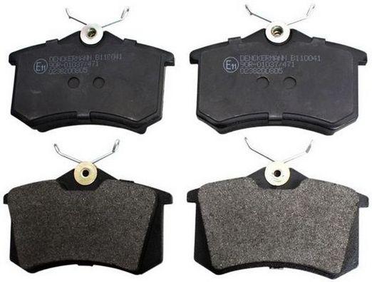 B110041 DENCKERMANN Hinterachse Höhe: 52,8mm, Dicke/Stärke: 17,2mm Bremsbelagsatz, Scheibenbremse B110041 günstig kaufen