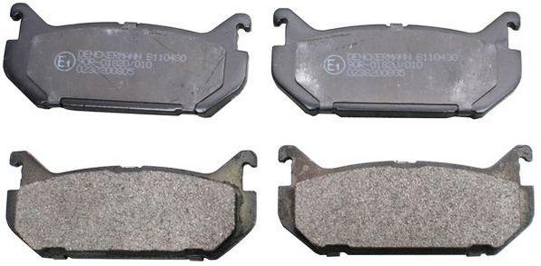 Original FORD USA Bremsbelagsatz B110430