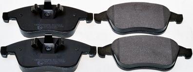 B111013 DENCKERMANN Vorderachse Höhe 1: 63mm, Höhe: 68mm, Breite 1: 155,1mm, Dicke/Stärke: 18mm Bremsbelagsatz, Scheibenbremse B111013 günstig kaufen