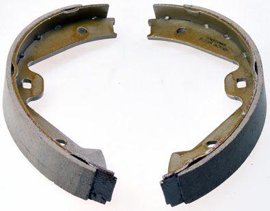PORSCHE 912 Bremsbackensatz für Trommelbremse - Original DENCKERMANN B120209 Breite: 30mm