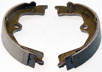 HONDA ACCORD 2003 Bremsklötze für Trommelbremse - Original DENCKERMANN B120222 Breite: 26mm
