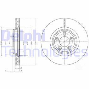 BG4203C DELPHI belüftet, beschichtet Ø: 326mm, Lochanzahl: 5, Bremsscheibendicke: 30mm Bremsscheibe BG4203C günstig kaufen