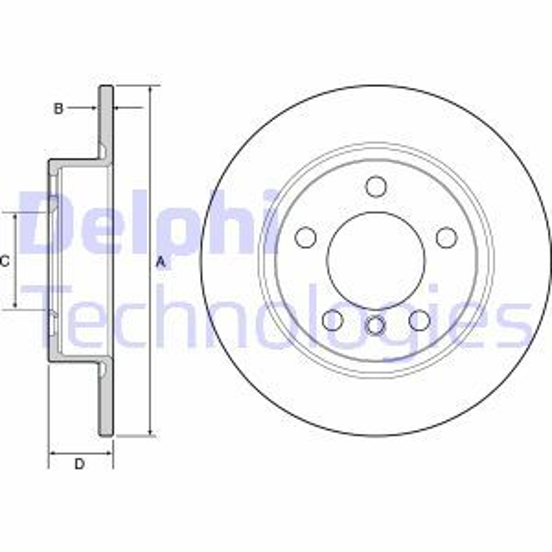 Original MINI Bremsscheiben BG4561C