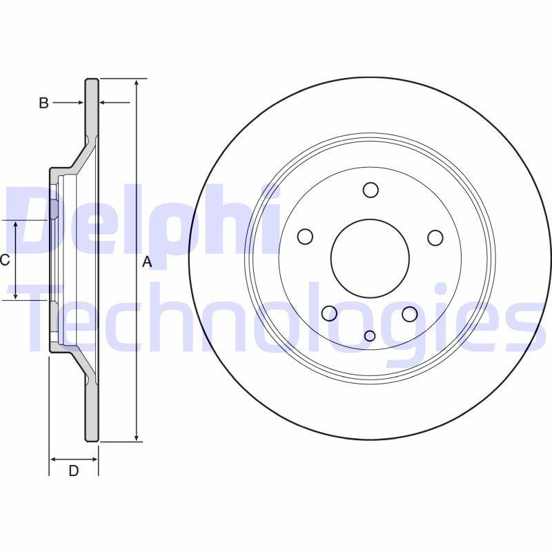 Bremsscheibe DELPHI BG4567C Bewertungen