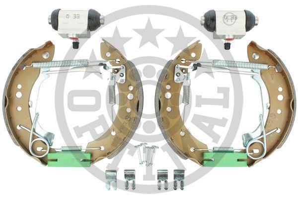 OE Original Bremsbeläge für Trommelbremsen BK-5259 OPTIMAL