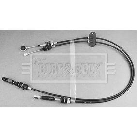 BKG1049 BORG & BECK Vajer, manuell transmission BKG1049 köp lågt pris