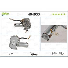 VALEO Vindrutetorkarmotor 404033 - köp med 18% rabatt