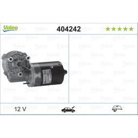 Pirkt 404242 VALEO ORIGINAL PART Kreisāspuses stūres vadībai, priekšā Stikla tīrītāju motors 404242 lēti
